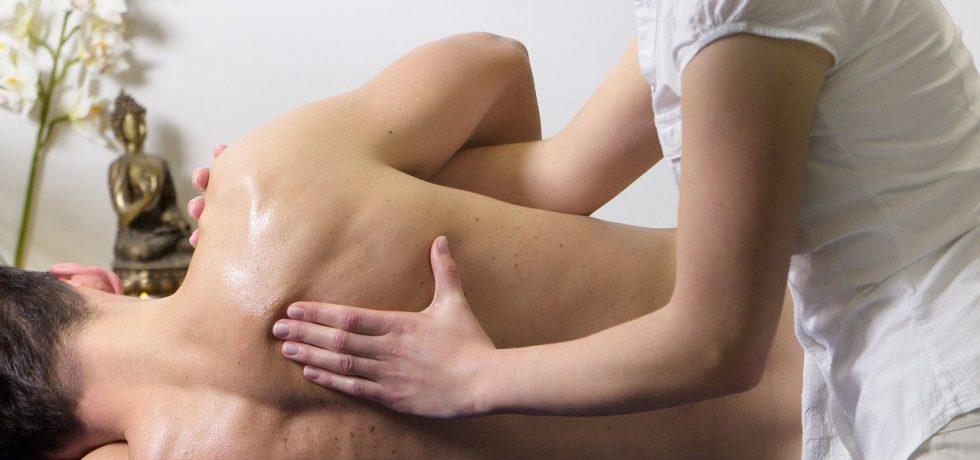 Sports massage with CBD